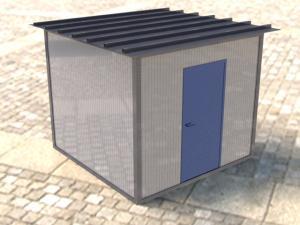 Telecomunication shelter